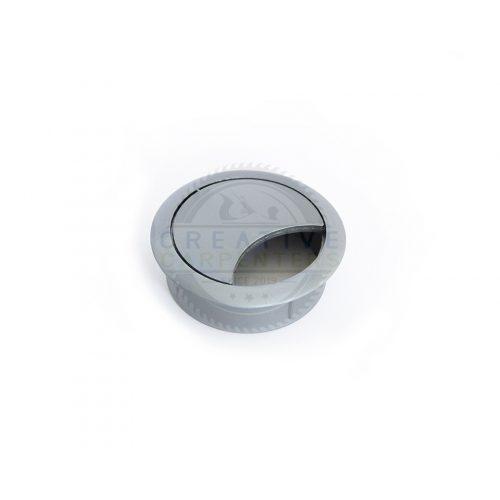 Kábel kivezető 60 mm ezüst