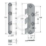 Ágyvasalat klasszikus 130 mm 2xB, 2xJ