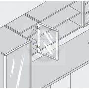 Blum 70T5550.TL ráütődő  TIP-ON csavar 120°