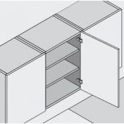 Blum 91M2550 ráütődő pánt Modul csavaros rögzítés 100°