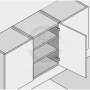 Blum 91M2750 közézáródó pánt Modul csavar rögzítés,  100°