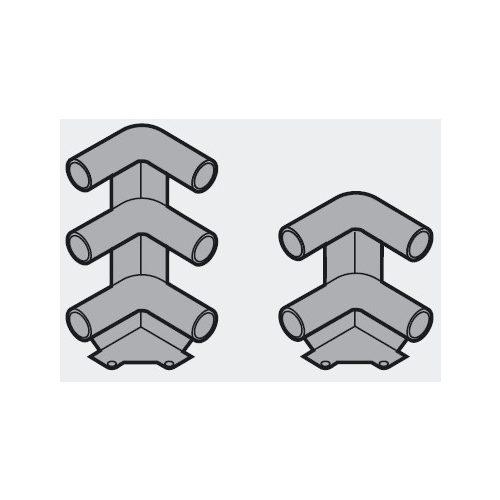 Blum ZTU.00Z0 sarokösszekötő elem dupla szürke