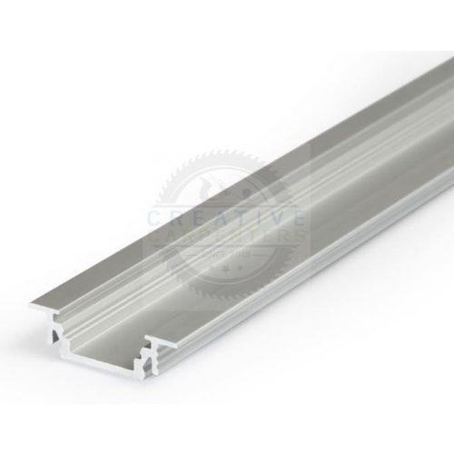 TM-profil LED Groove eloxált alumínium 2000mm