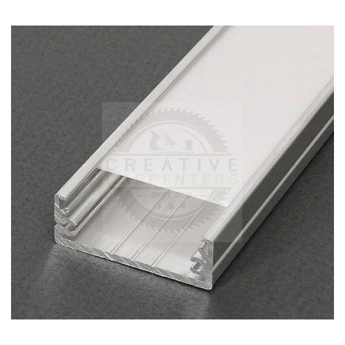 TM-profil LED Wide nyers 2000mm