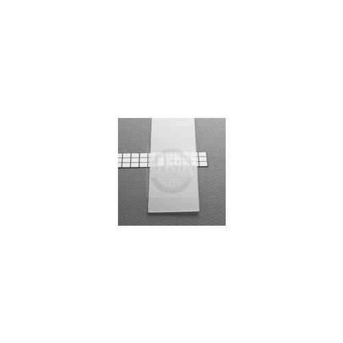 TM-takaró profil LED profilokhoz becsúsztatható transzparens 2000mm
