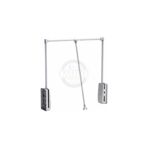 Ruhalift 690-920mm ezüst/alu