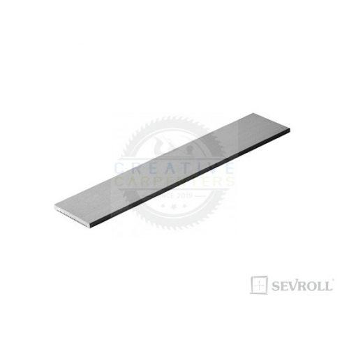 SEVROLL dísz profil S20 3m ezüst