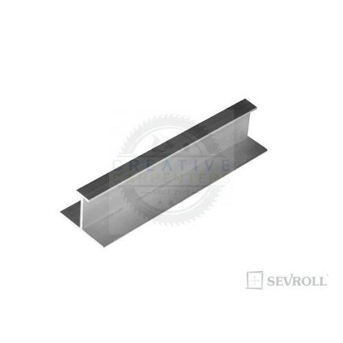 SEVROLL összekötő profil H08/18 3m ezüst