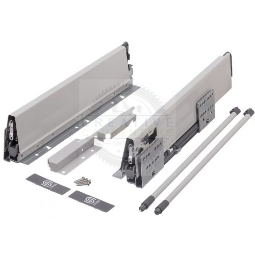 StrongBox H140/300 mm szürke