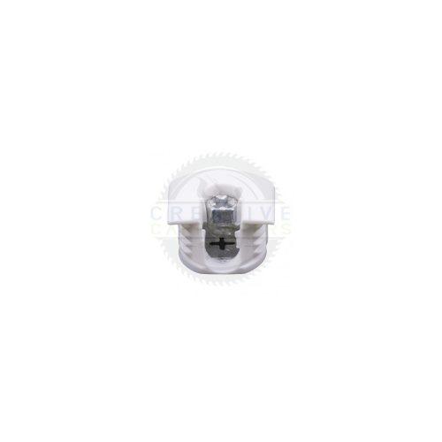 Excenter polchoz SE02-20x14mm fehér