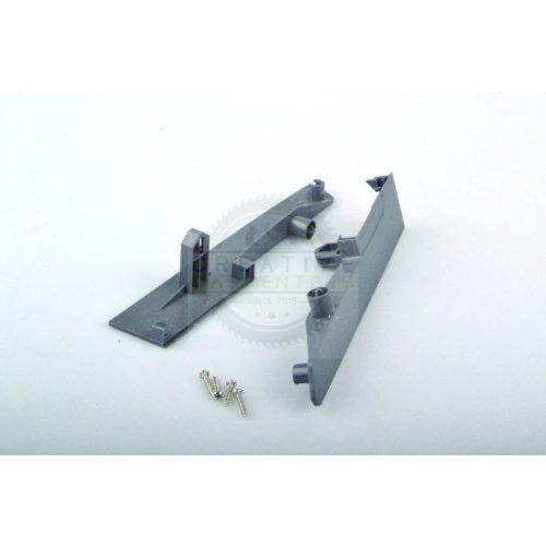 StrongBox fiók front rögzítő belső fiókhoz H204, egy magasító korláttal, szürke