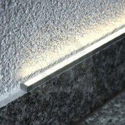 TM-profil LED Slim eloxált alumínium 1000mm