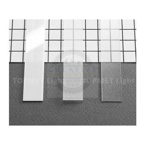 TM-takaró profil Slim/Smart profilhoz rápattintható/befűzős tejfehér 1000mm