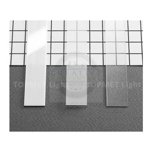 TM-takaró profil Slim/Smart profilhoz rápattintható/befűzős transzparens 2000mm