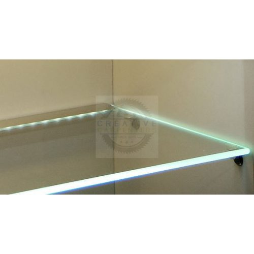 TM-profil LED Mikro eloxált alumínium 2000mm