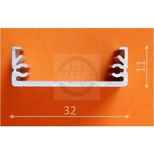 TM-profil LED Wide alu elox 1000mm