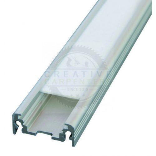 TM-profil LED Surface eloxált alumínium 3000mm