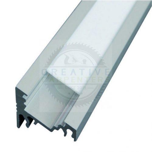 TM-profil LED Corner eloxált alumínium 3000mm