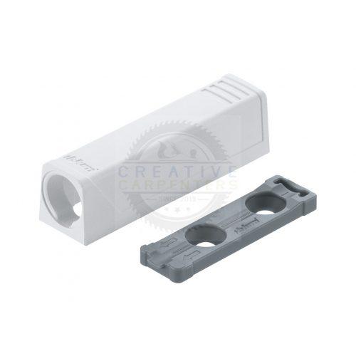 Blum 956.1201 TipOn egyenes adapter,50mm,fehér