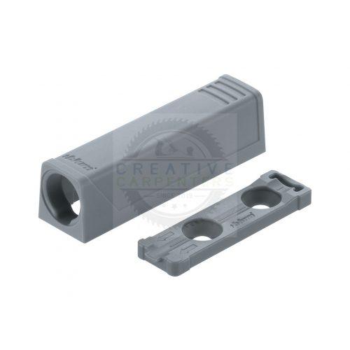 Blum 956.1201 TipOn egyenes adapter 50mm,szürke