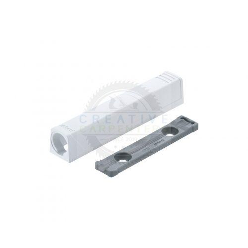 Blum 956A1201 TipOn egyenes adapter,76mm,fehér
