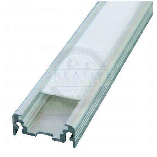 TM-profil LED Surface eloxált alumínium 4000mm