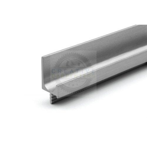 TULIP Rápattintható fogantyú profil-Juvio II 2900mm alumínium