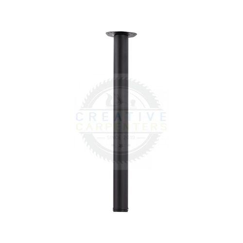 Asztalláb ENTRY 710/60 mm matt fekete