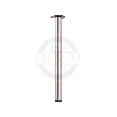 Asztalláb ENTRY 710/60 mm matt nikkel