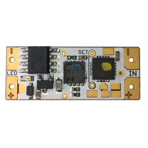 LED multikapcsoló 12/24V sárga LED kijelző