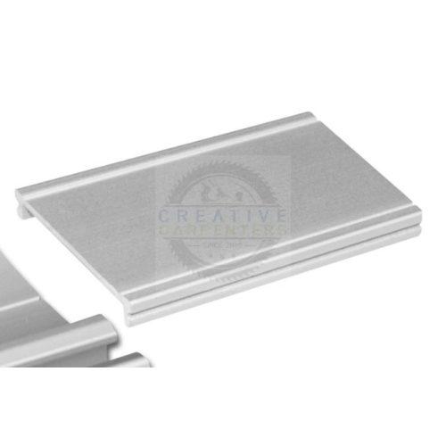 SEVROLL takaró profil Elegant II 1,7m ezüst