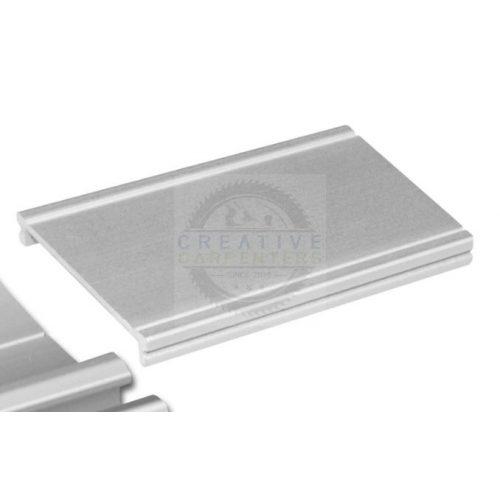 SEVROLL takaró profil Elegant II 2,35m ezüst