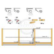 STRONG érzékelő kapcsoló/mozgásérzékelőhöz ajtóba fehér