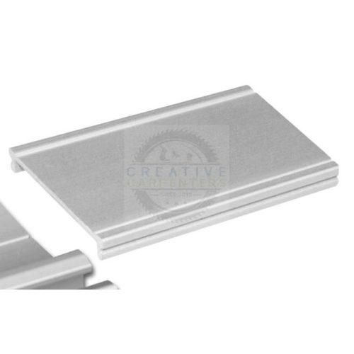 SEVROLL takaró profil Elegant II 3m ezüst