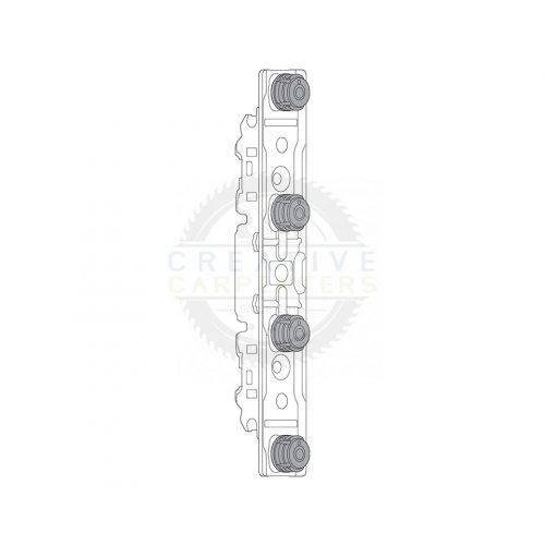 BLUM 20S42T1 front vasalat vékony anyag Aventos HK, HL, HS, Expando T