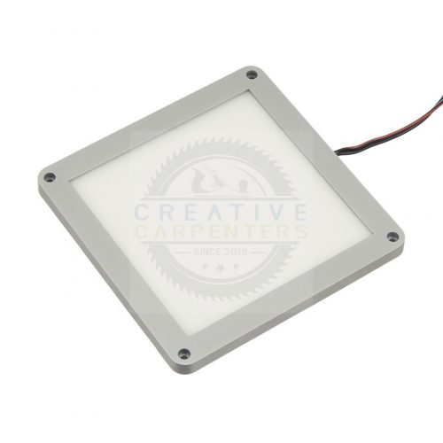 LED spotlámpa CIRAT 12V 3W alu meleg fehér
