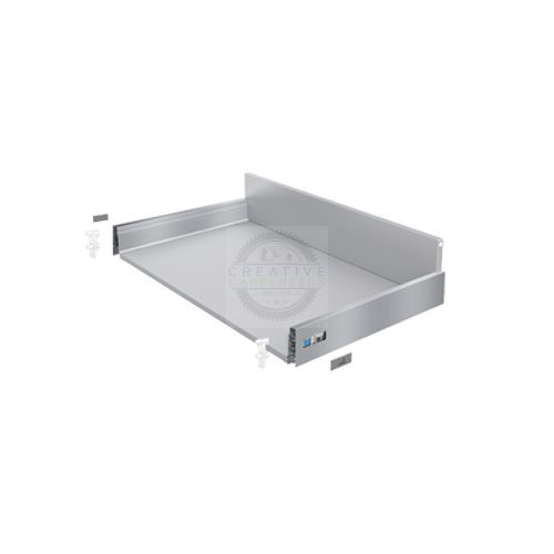 K-HETTICH InnoTech Atira, front kihuzású, fehér, 420/70/144, 50kg, P2Os