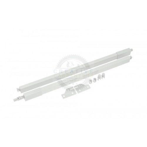 StrongMax magasító korlát szett fiókmagasításhoz 350 mm fehér