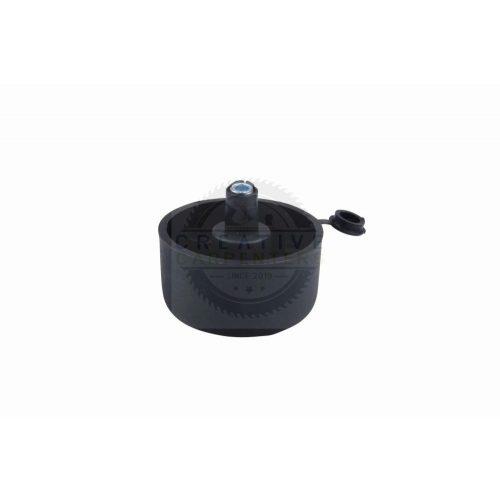 Csúszó talp állítási lehetőséggel magasság 27 mm fekete