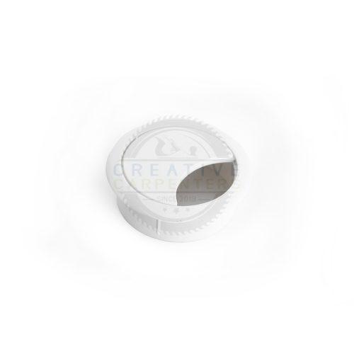 Kábel kivezető 60 mm fehér
