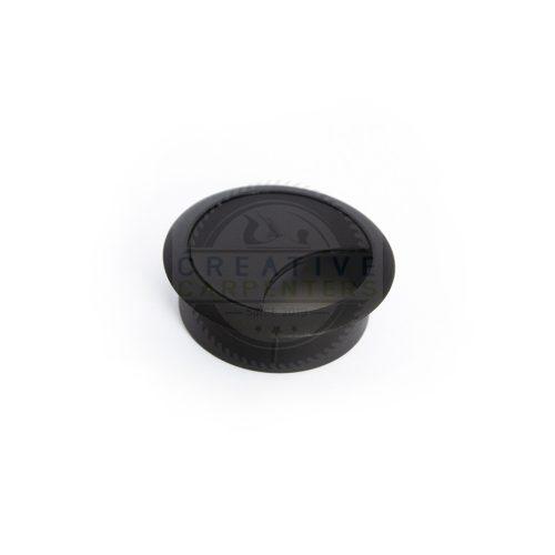Kábel kivezető 60 mm fekete