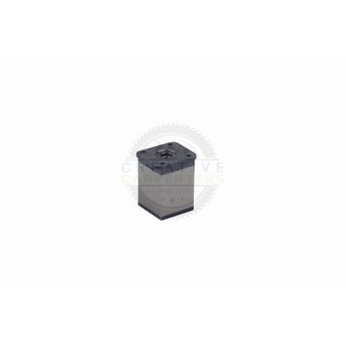 Bútorláb szögletes 40x40mm 150mm nemesacél