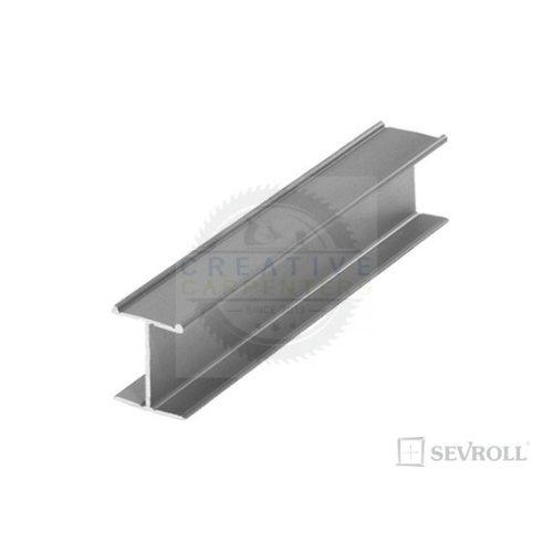 SEVROLL összekötő profil H18 3m ezüst