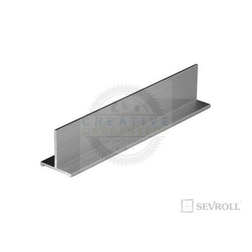 SEVROLL összekötő profil T Decor 3m ezüst