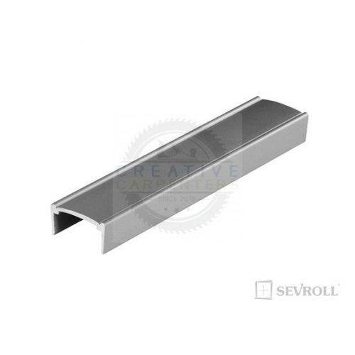 """SEVROLL profil """"U"""" Decor 18mm 3m ezüst"""