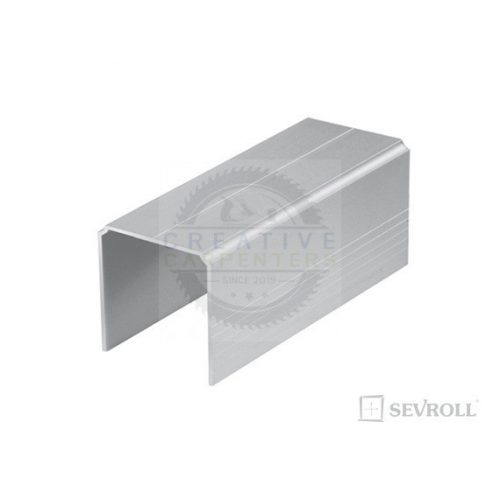 SEVROLL Single felső vezetés 2,35m ezüst