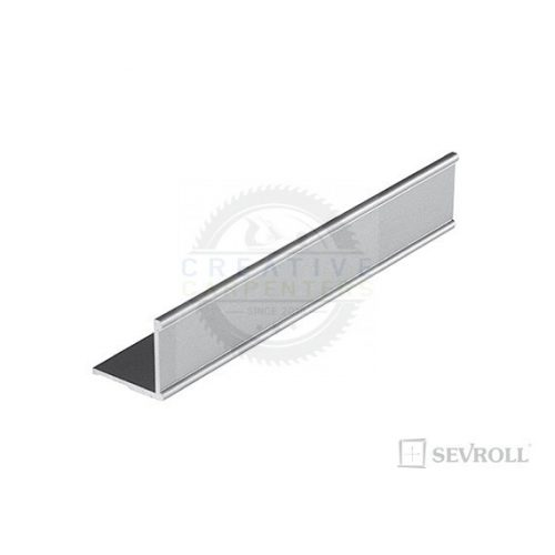 SEVROLL szögletvas K2 Decor 1,7m ezüst