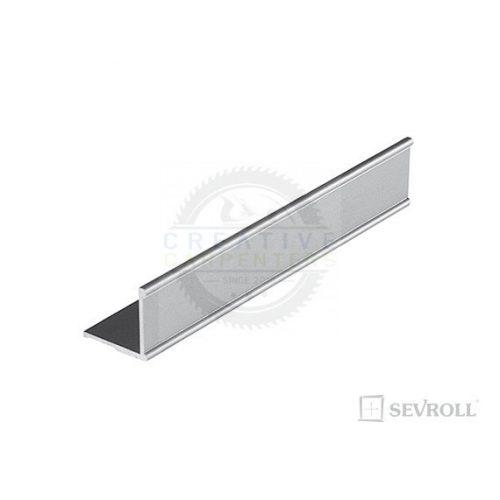 SEVROLL szögletvas K2 Decor 2,35m ezüst