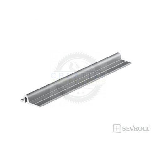 SEVROLL Micra felső/alsó vezetés 2,35m ezüst elox