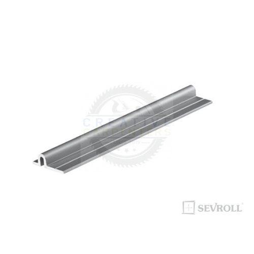SEVROLL Micra felső/alsó vezetés 3m ezüst elox